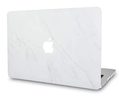 Macbook Case - Marble Collection - Antique Ice Marble