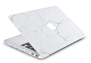 Macbook Case - Marble Collection - White Marble 4