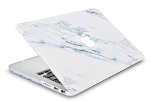 Macbook Case - Marble Collection - Mauve Marble
