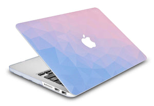 Macbook Case - Color Collection - Ombre Pink Blue
