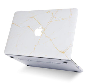 Macbook Case - Marble Collection - Alabaster Marble