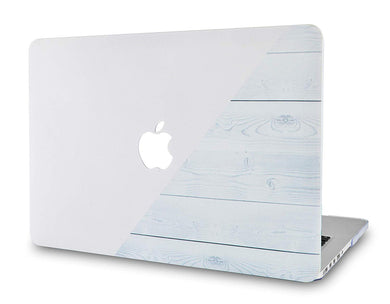 Macbook Case - Wood Collection - Pale Pink White Wood