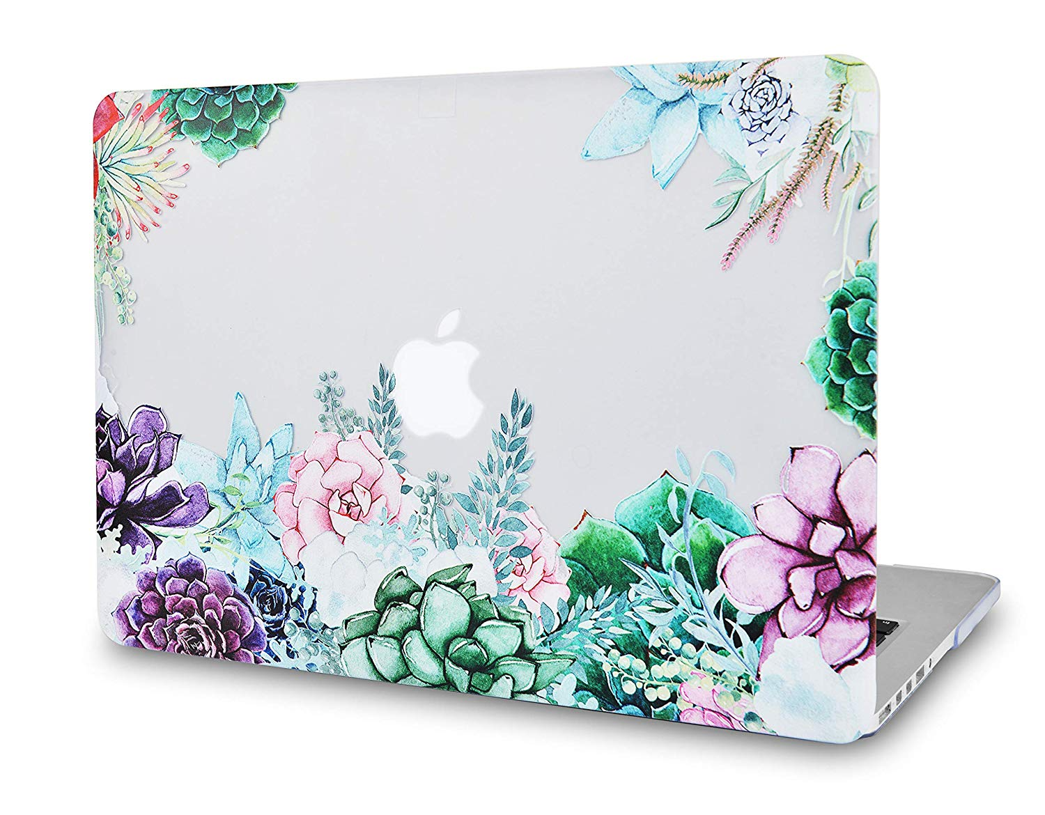 premium selection c5997 3c820 Macbook Case Bundle - Flower Collection - Floral Cluster with US/CA  Keyboard Cover