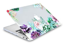 Load image into Gallery viewer, Macbook Case Bundle - Flower Collection - Floral Cluster with Keyboard Cover