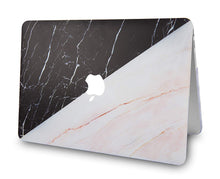 Load image into Gallery viewer, Macbook Case - Marble Collection - Granite Black Marble