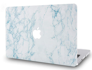 Macbook Case - Marble Collection - White Marble 2