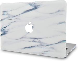 Macbook Case Bundle - Marble Collection - Crystal Marble with Keyboard Cover and Screen Protector