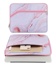 Load image into Gallery viewer, Macbook Case Bundle - Marble Collection - Pink Marble with Sleeve
