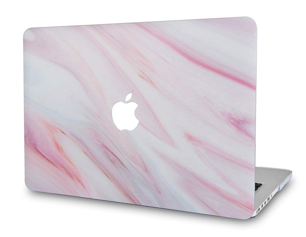 Macbook Case - Marble Collection - Red Onyx Marble