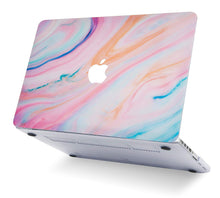 Load image into Gallery viewer, Macbook Case - Marble Collection - Rainbow Marble