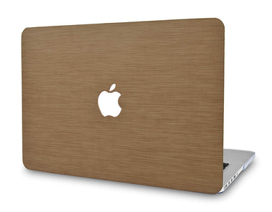 Macbook Case - Leather Collection - Chestnut Saffiano Leather