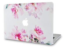 Load image into Gallery viewer, Macbook Case 4 in 1 Bundle - Flower Collection - Flower 22 with Keyboard Cover, Screen Protector and Pouch