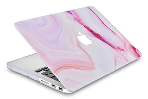 Macbook Case - Marble Collection - Pink Marble 3