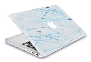 Macbook Case - Marble Collection - Cracked Marble