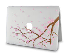 Load image into Gallery viewer, Macbook Case Bundle - Flower Collection - Cartoon Cherry Blossom with Keyboard Cover