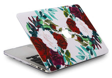 Load image into Gallery viewer, Macbook Case Bundle - Flower Collection - Flower 25 with Keyboard Cover
