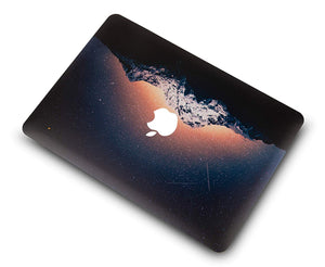 Macbook Case Bundle - Color Collection - Shooting Stars with Keyboard Cover