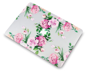Macbook Case Bundle - Flower Collection - Rose Bouquet with Keyboard Cover