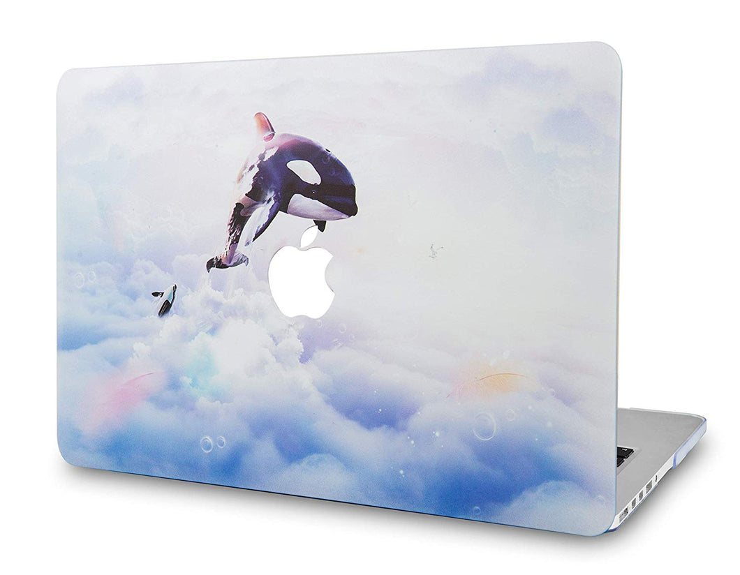 Macbook Case - Paint Collection - Dolphin