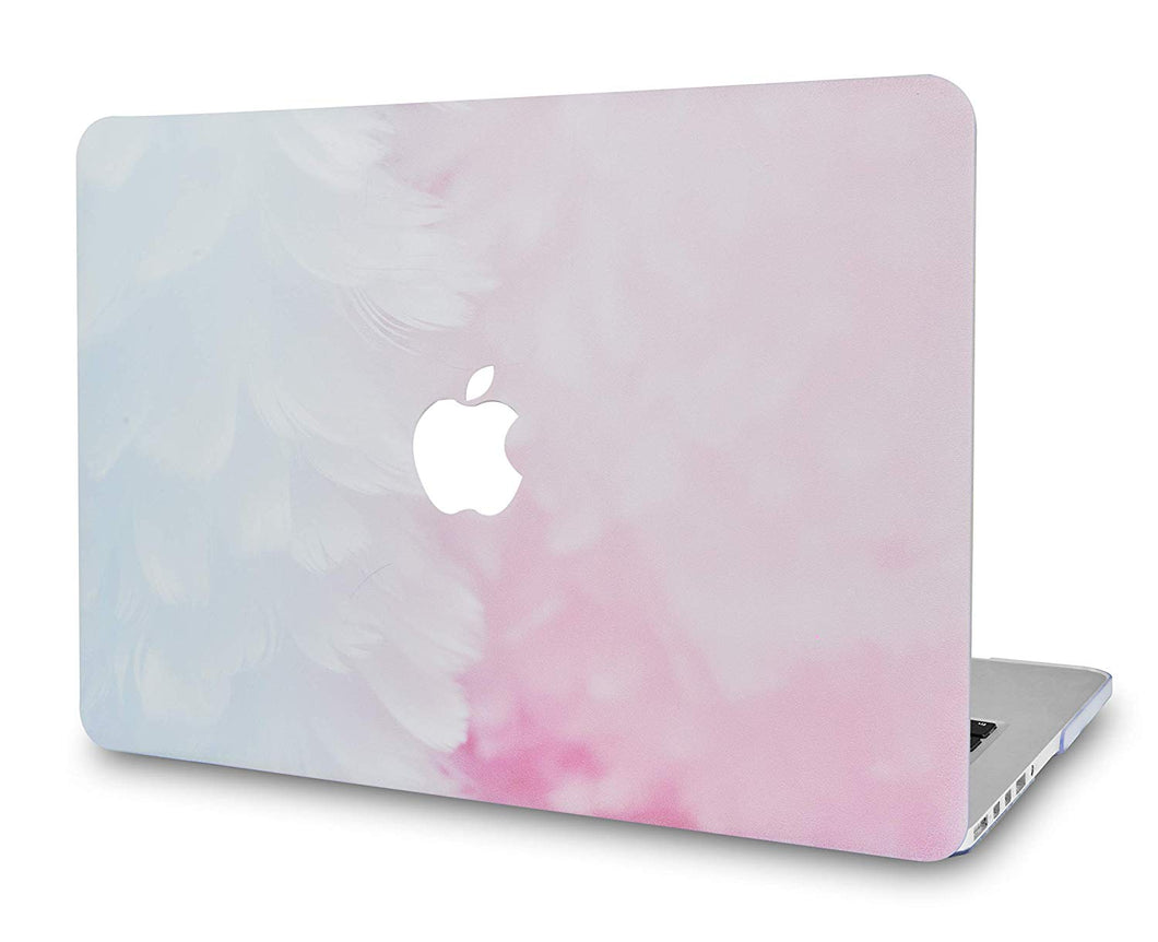 Macbook Case - Marble Collection - Pink Cloud Marble