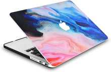 Load image into Gallery viewer, Macbook Case Bundle - Paint Collection - Oil Paint 4 with Keyboard Cover and Screen Protector
