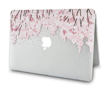 Load image into Gallery viewer, Macbook Case Bundle - Flower Collection - Pink Sakura Tree with Keyboard Cover