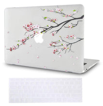 Load image into Gallery viewer, Macbook Case Bundle - Flower Collection - Sakura Fall with Keyboard Cover