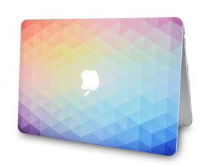 Macbook Case - Color Collection - Rainbow Ombre