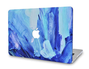 Macbook Case Bundle - Paint Collection - Oil Paint 5 with Keyboard Cover and Screen Protector