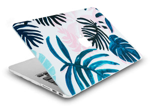 Macbook Case - Flower Collection - Tropical Leaves
