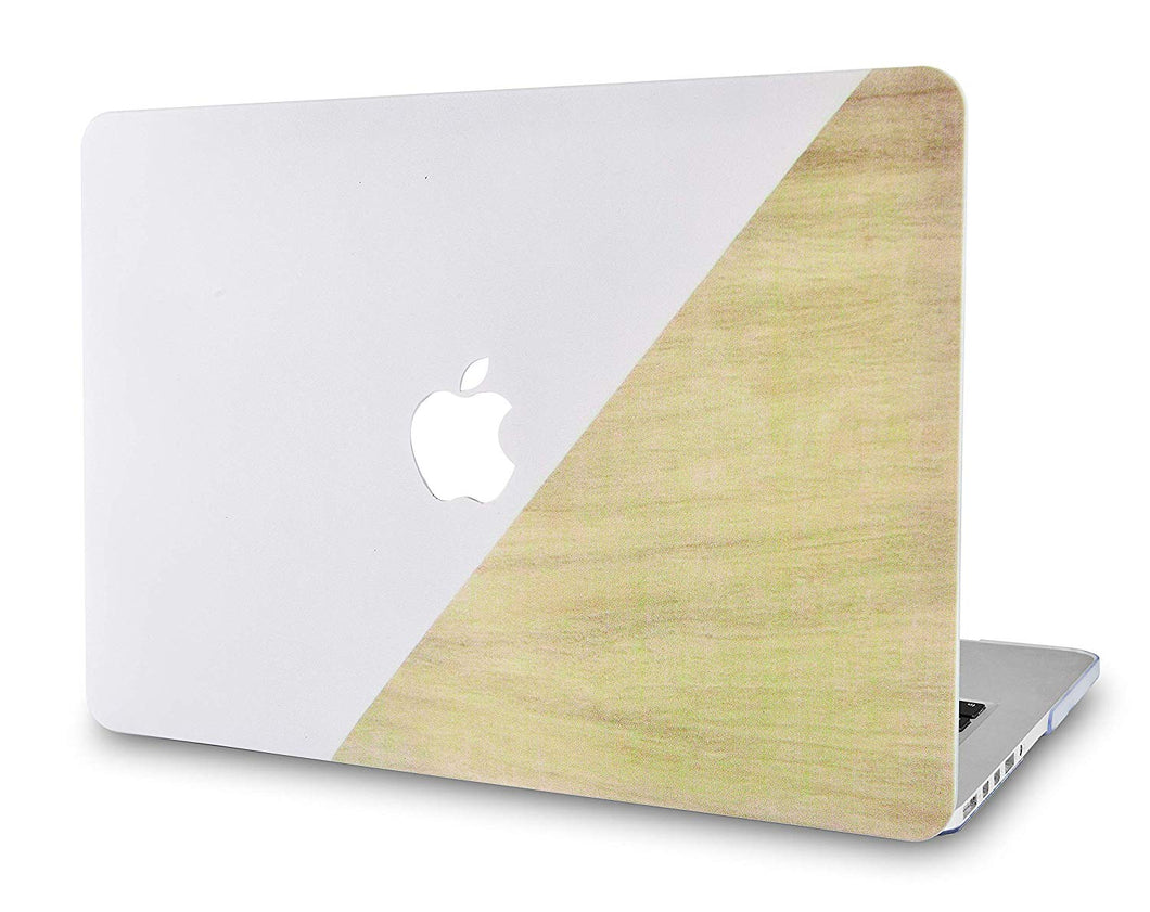Macbook Case - Wood Collection - Pale Pink Brown Wood