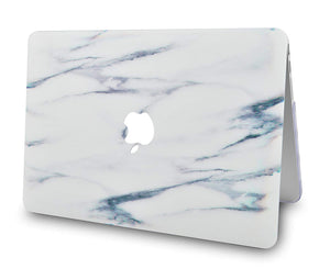 Macbook Case Bundle - Marble Collection - Crystal Marble with Keyboard Cover