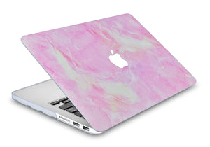 Macbook Case - Marble Collection - Pink Marble 4