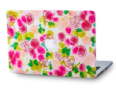Macbook Case - Flower Collection - Floral 26