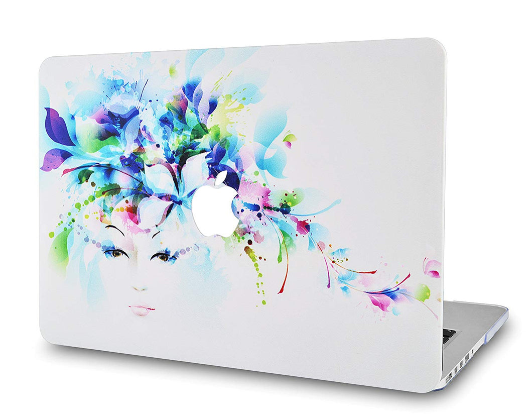 Macbook Case - Flower Collection - Floral Lady