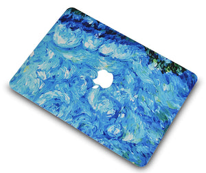 Macbook Case - Paint Collection - Oil Paint Sky