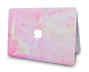 Macbook Case - Marble Collection - Pink Marble 5