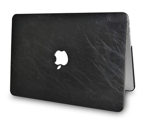 Macbook Case - Leather Collection - Black Cow Leather