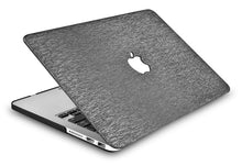 Load image into Gallery viewer, Macbook Case - Leather Collection - Silver Grey Leather