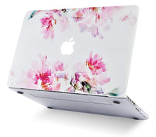 Load image into Gallery viewer, Macbook Case 5 in 1 Bundle - Flower Collection - Flower 22 with Sleeve, Keyboard Cover, Screen Protector and USB Hub 3.0