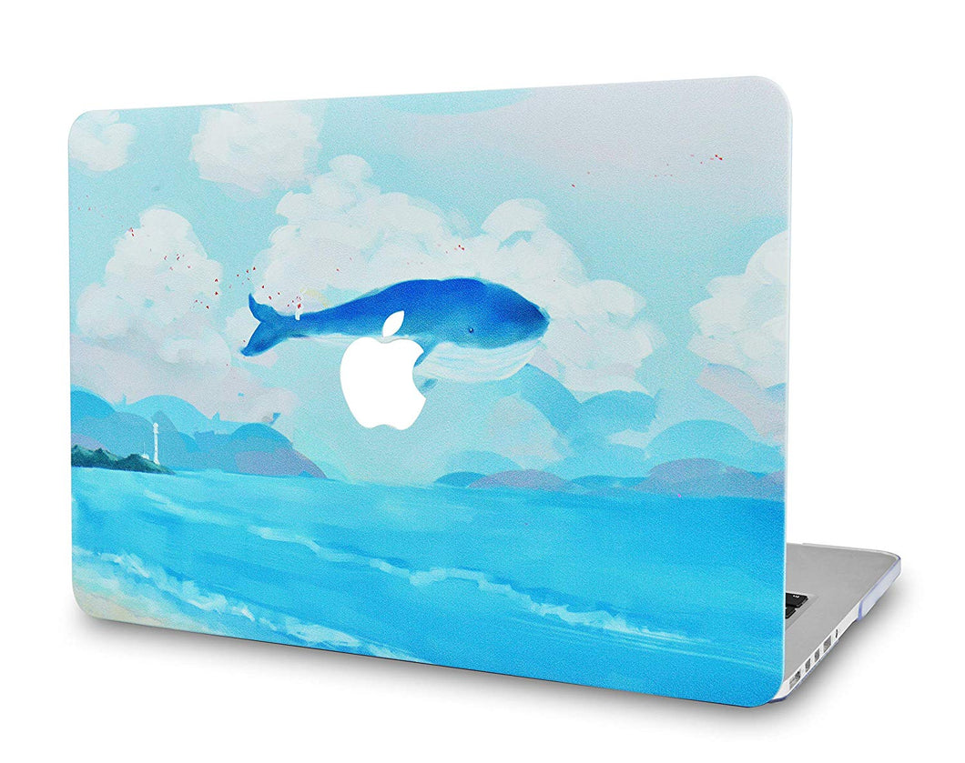 Macbook Case - Paint Collection - Whale