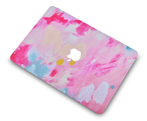 Macbook Case - Paint Collection - Pink Mist 2