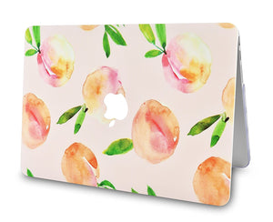 Macbook Case Bundle - Paint Collection - Orange with Keyboard Cover