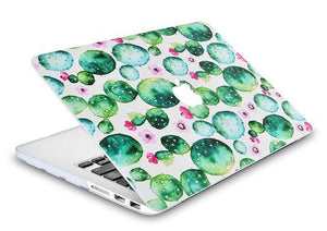 Macbook Case - Paint Collection - Cactus 2
