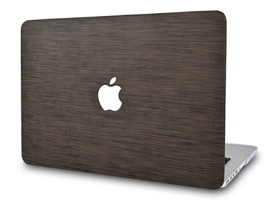 Macbook Case - Leather Collection - Dark Brown Saffiano Leather