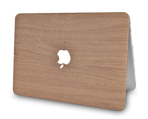 Macbook Case - Wood Collection - Brown Wood