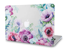 Load image into Gallery viewer, Macbook Case Bundle - Flower Collection - Anemone Flower with Keyboard Cover