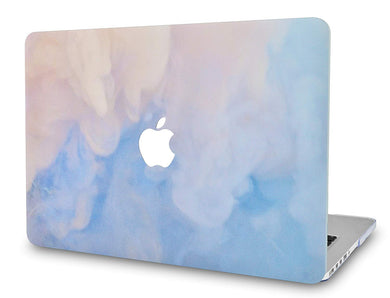 Macbook Case - Paint Collection - Blue Mist