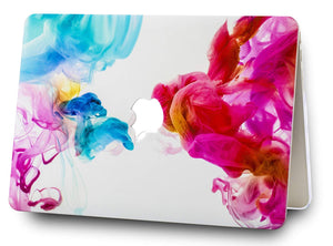 Macbook Case Bundle - Paint Collection - Oil Paint with Keyboard Cover