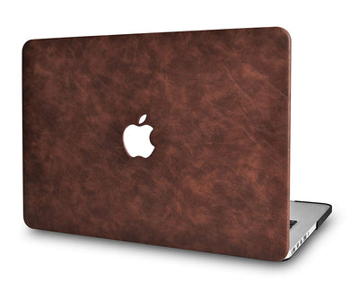 Macbook Case - Leather Collection - Brown Cow Leather